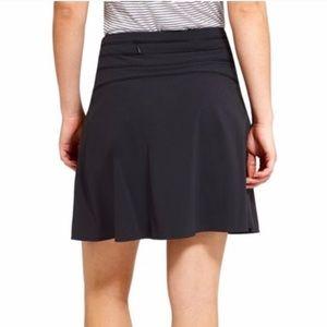 Athleta Spring '19 All Day skort skirt black 6Tall
